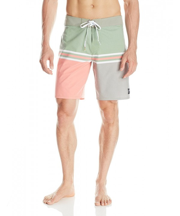 Rusty Mens Quaker Boardshort Army