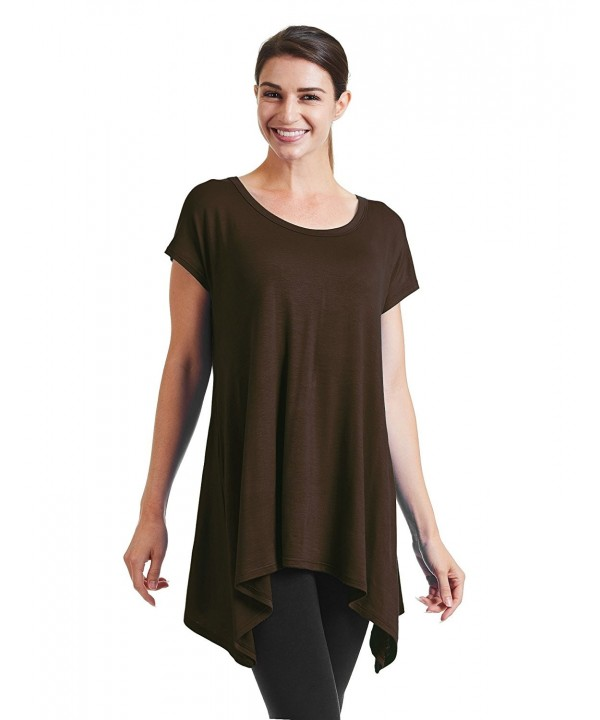 WT932 Womens Round Sleeve Asymmetrical
