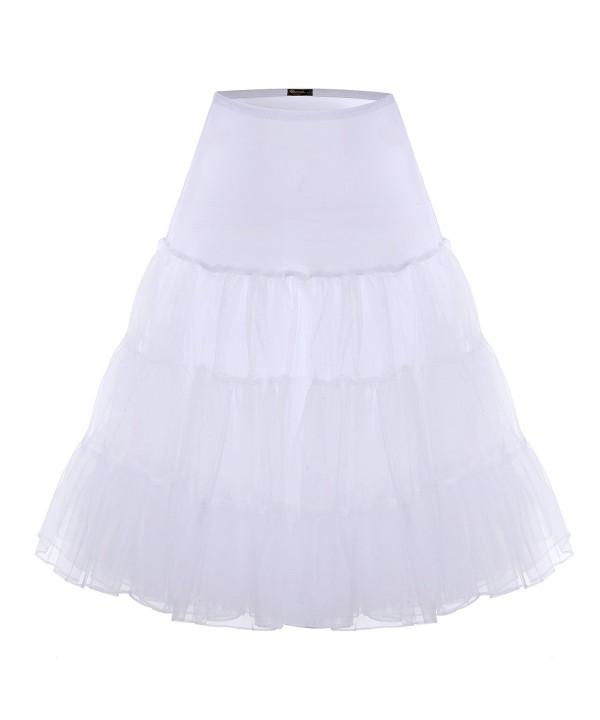 BAOMOSI Vintage Petticoat Crinoline Underskirts
