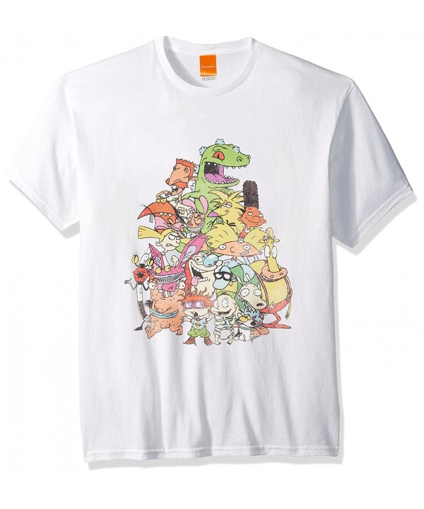 Nickelodeon Nicktoons Supergroup T Shirt White