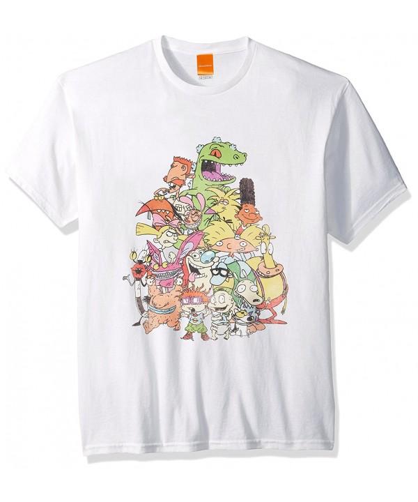 Nickelodeon Nicktoons Supergroup T Shirt White