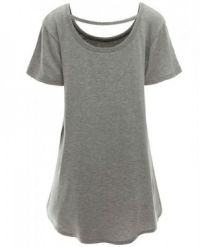 FashionShop365 Womens Plain Sleeve T Shirts