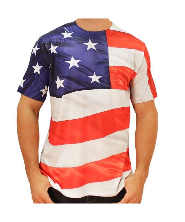 American Around Sublimated T shirt large