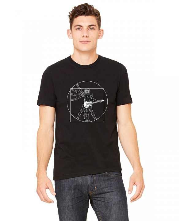 InkThread T Shirt Vitruvian Guitar Graphic