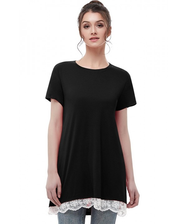 Musever Womens Sleeves Casual T Shirt