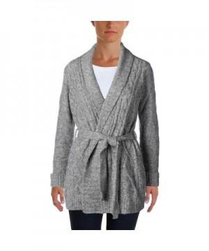 NYDJ Womens Petites Cardigan Sweater
