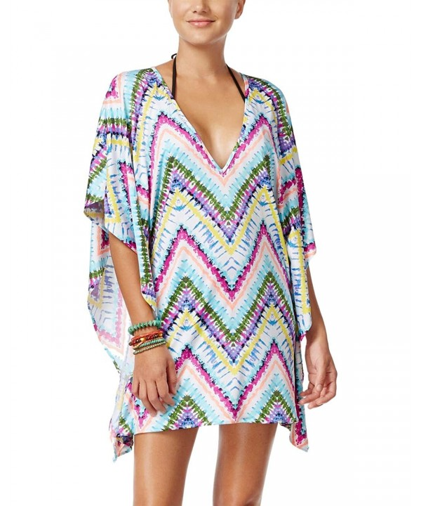 Bar III Womens Tie Dye Cover Up