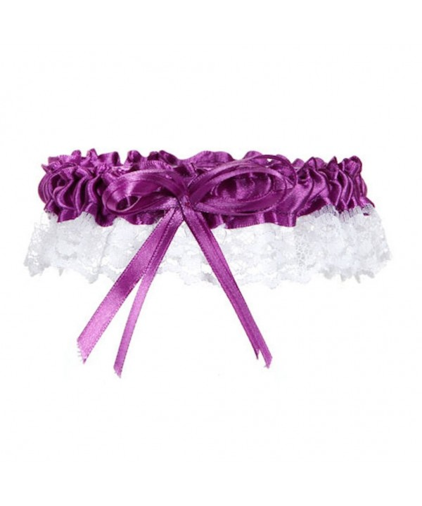 Victoria Lynn Garter Purple pieces