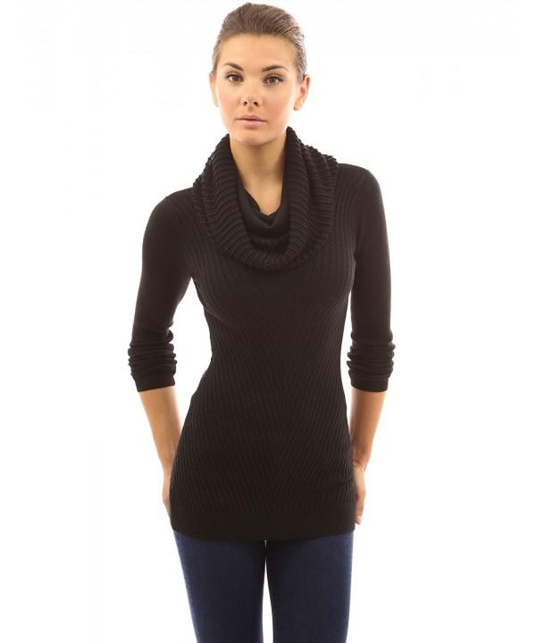 PattyBoutik Womens Infinity Scarf Sweater