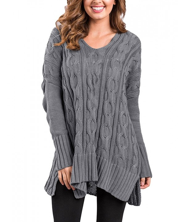 GRAPENT Womans Oversized Sweater Pullover