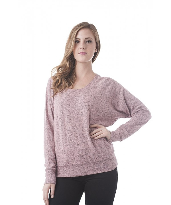 Sleeve Brushed Dolman Pullover Sweater