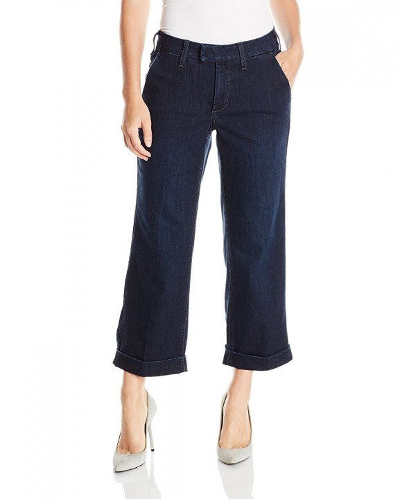 NYDJ Womens Relaxed Trouser Verdun