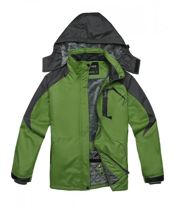0704b59dd Women's Winter Waterproof Fleece Ski Jacket Windproof Warm Outdoor ...