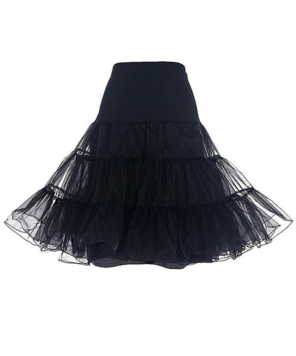 DRESSTELLS Vintage Rockabilly Petticoat Underskirt
