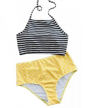 Joy Bella Printing High Waisted Swimwear