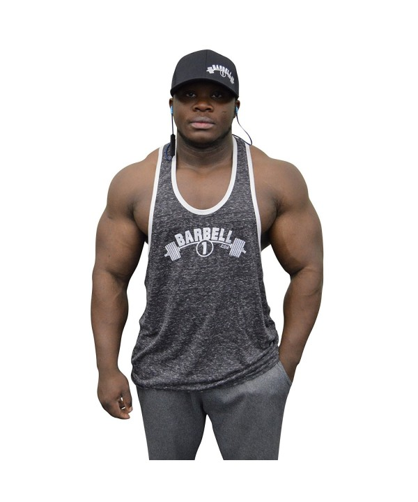 Barbell Bodybuilding Stringer Lifting Charcoal