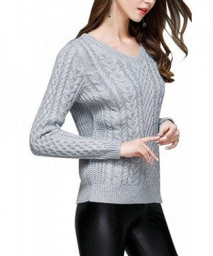 Sovoyant Womens Sweater Casual Pullovers