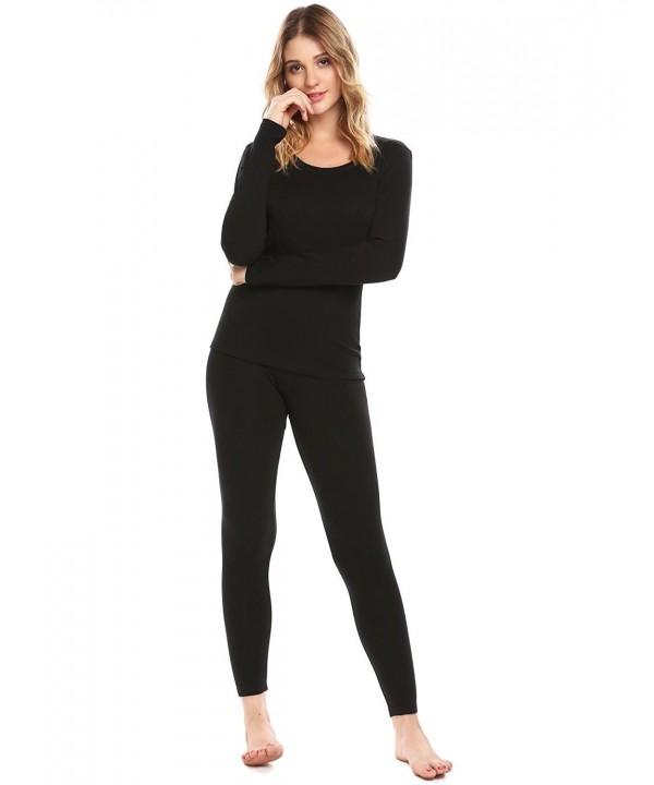 Langle Thermal Bottom Pajamas Nightwear