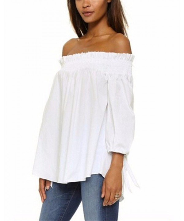 ZANZEA Womens shoulder Sleeve Blouse