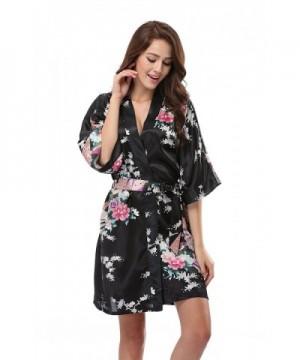 Luvrobes Womens Kimono Peacock Design