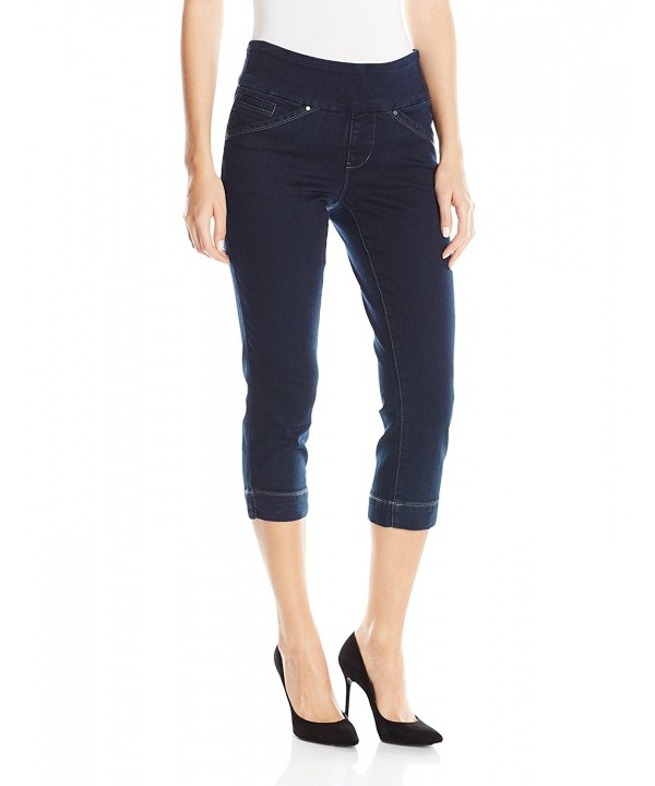 Jag Jeans Womens Petite Midnight