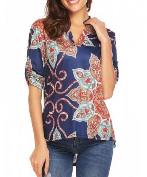 Gumod Casual Cuffed Sleeve Blouses