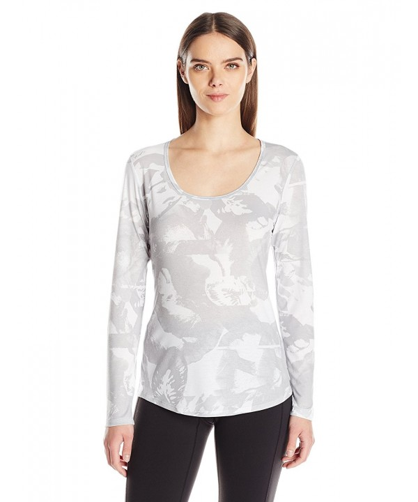Lucy Womens Sleeve Workout Abstract