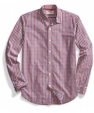 Goodthreads Standard Fit Long Sleeve Two Color Gingham