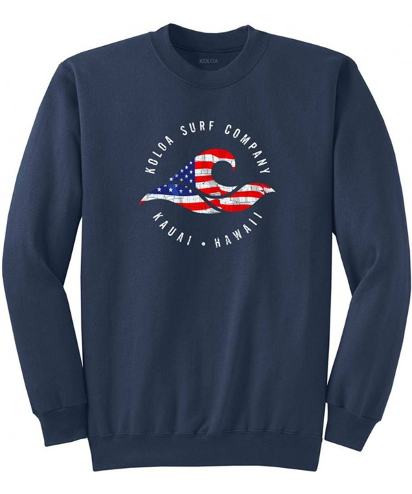 Vintage USA Crewneck Sweatshirt USA Navy