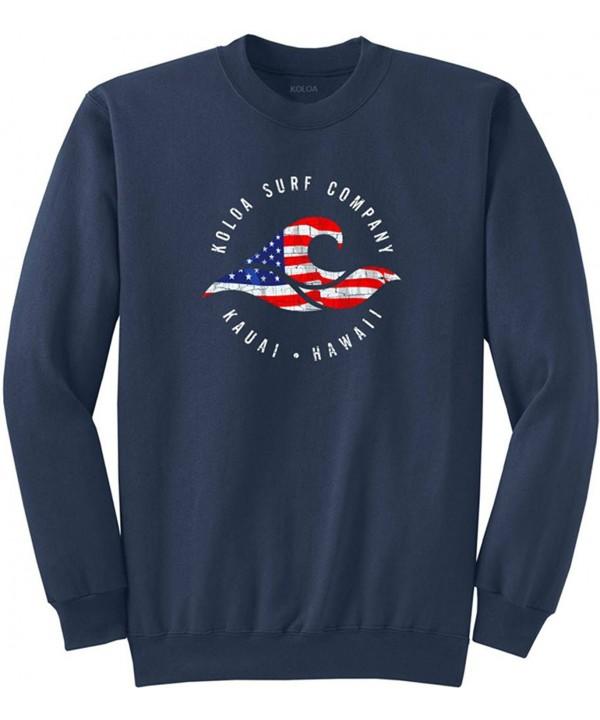 Vintage USA Crewneck Sweatshirt USA Navy