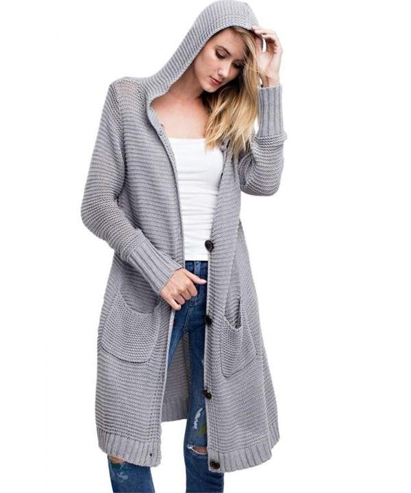 Easel Oversized Cardigan Sweater Heather