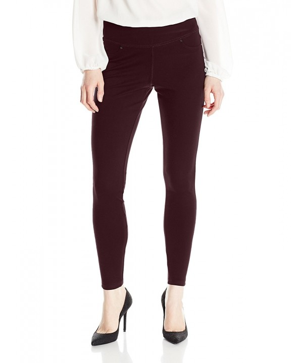 Jag Jeans Womens Legging Burgundy