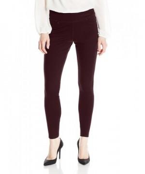 Jag Jeans Womens Legging Burgundy