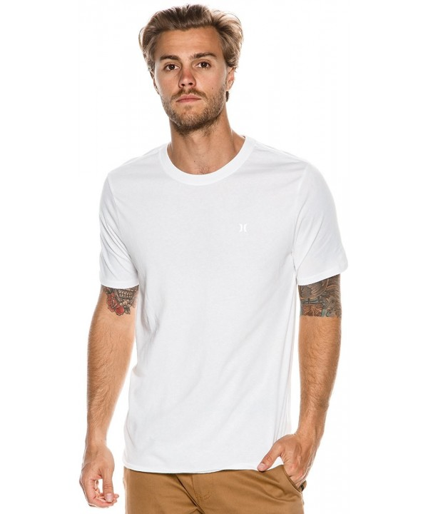 Hurley Mens Icon Dri Fit White