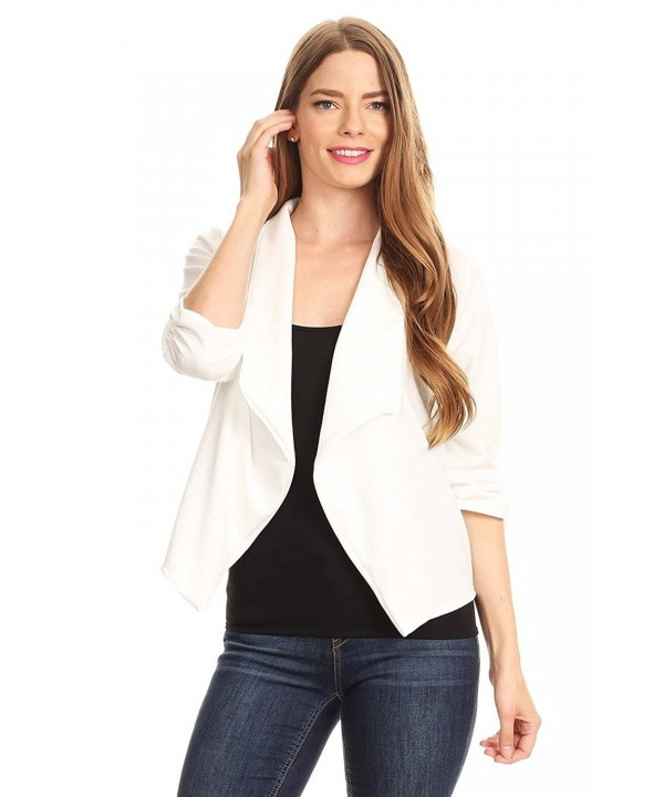 HEO CLOTHING Regular Cardigan A9 White