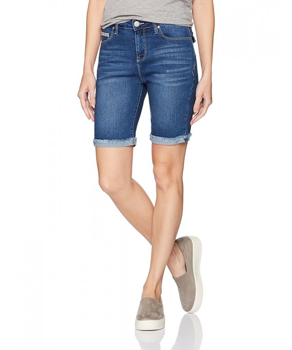 Angels Jeans Womens Signature Bermuda