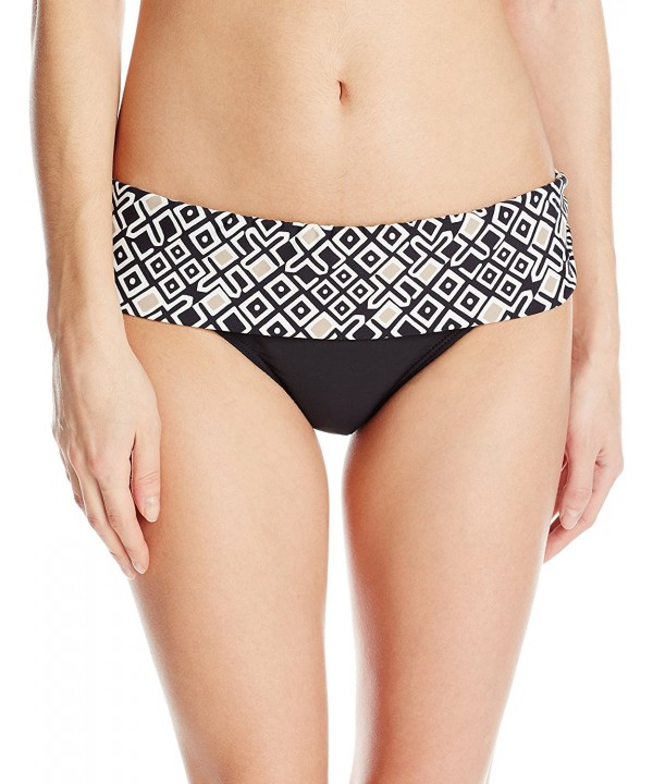 Athena Womens Banded Bikini Bottom
