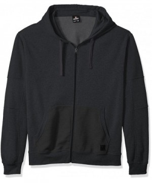 Southpole Fullzip Details Heather Charcoal