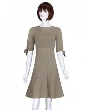 ADAMARIS Womens Bowknot Sleeve Sweater
