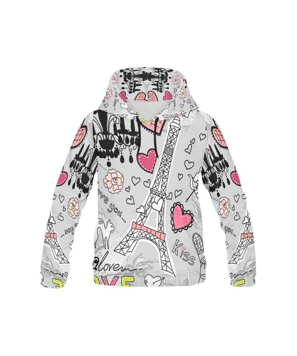 your fantasia Custom Print Hoodie Paris