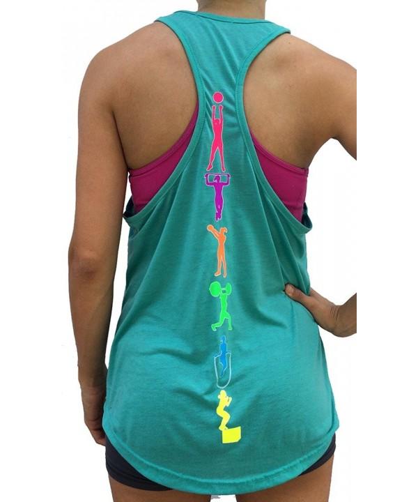 SoRock Fitness Singlet Medium Turquoise