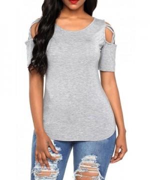 AlvaQ Juniors Shoulder T Shirts Blouses
