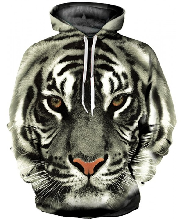 Unisex Digital Animal Pullover Sweatshirt
