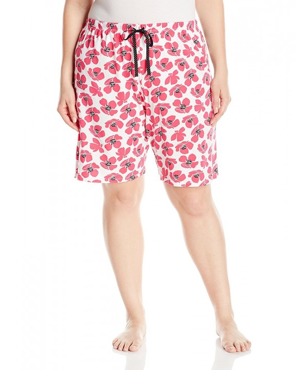 Jockey Womens Printed Bermuda Graphic