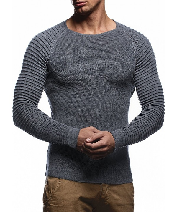 Leif Nelson Pullover LN20729 Anthracite