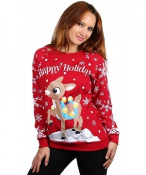 Juniors Christmas Assorted Sweatshirt Holidays