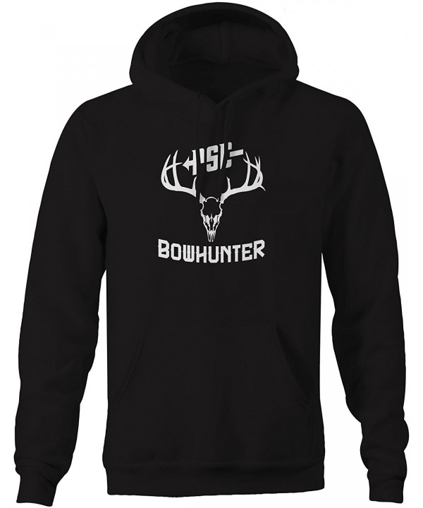 Bowhunter Antlers Archery Hooded Sweatshirt
