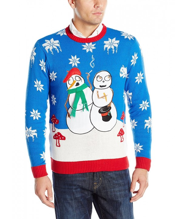 Blizzard Bay Snowmen Christmas Sweater