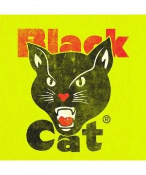 acfb66888485 Black Cat Fireworks T-Shirt - Licensed Black Cat Shirt (Yellow ...