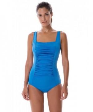 SYROKAN Athletic Training Swimsuits Sapphire